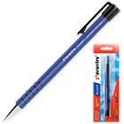 Ручка шариковая синяя автоматическая Avantre Accent 0.35 мм Корпус синий